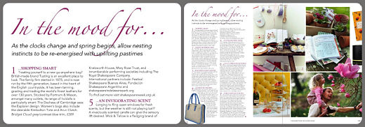 Tusting in The English Home Magazine