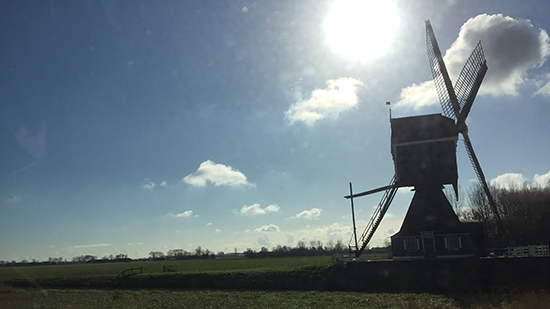 Tusting goes to Holland - Windmill