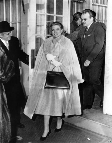 history of the it bag - grace kelly