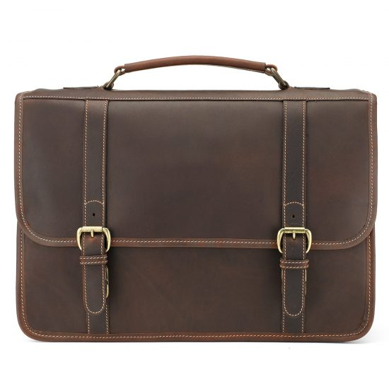 Tusting Buckingham Leather Briefcase