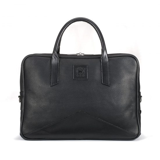 Made in England: The Tusting Langford leather briefcase