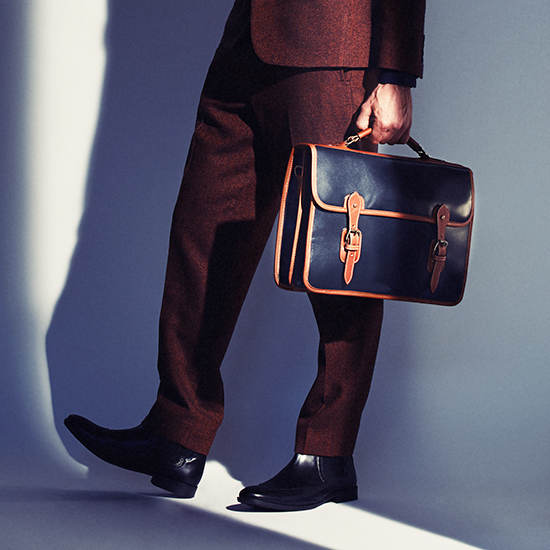 TUSTING Wymington Leather Briefcase