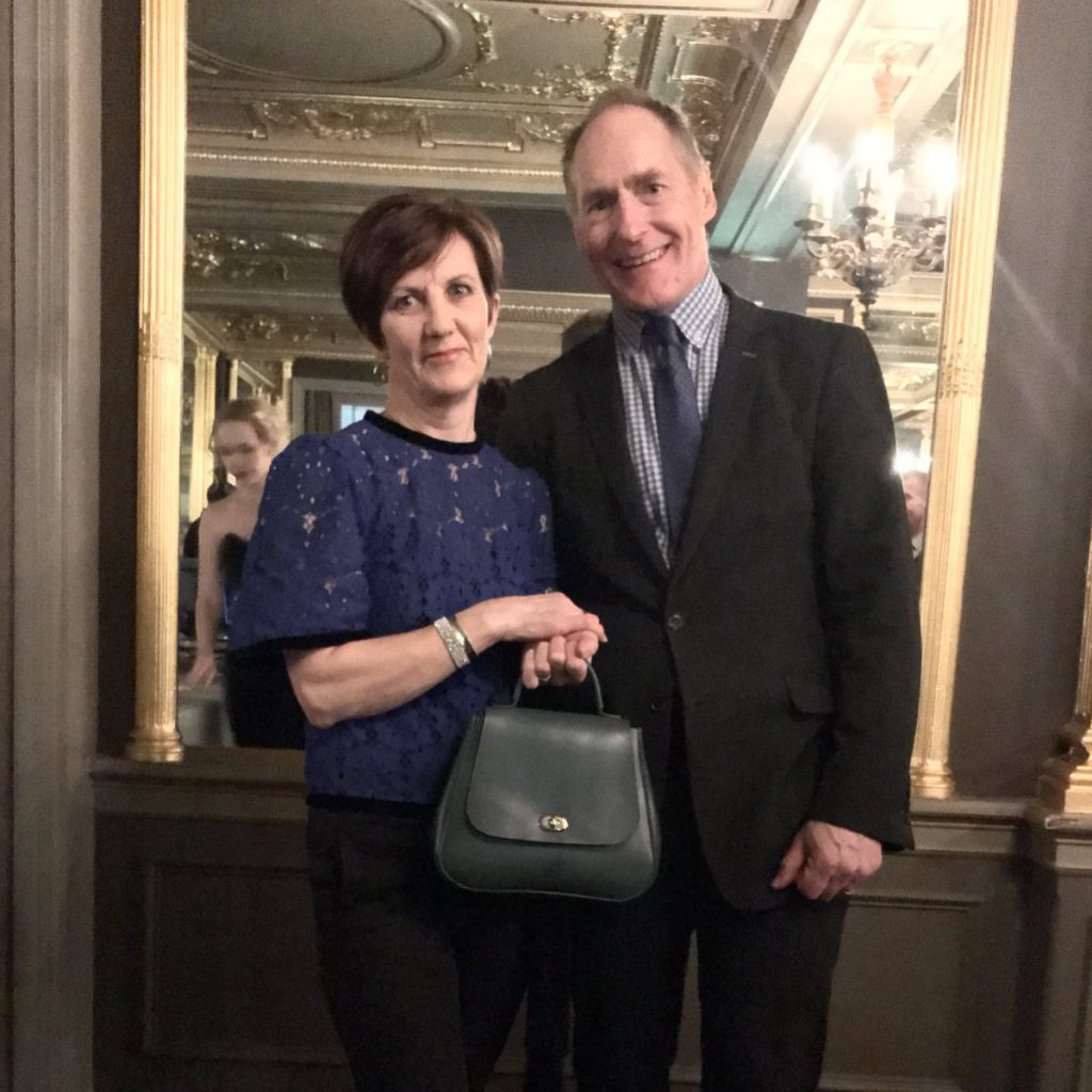 William and Gillian Tusting at the Great British Brands party 2018