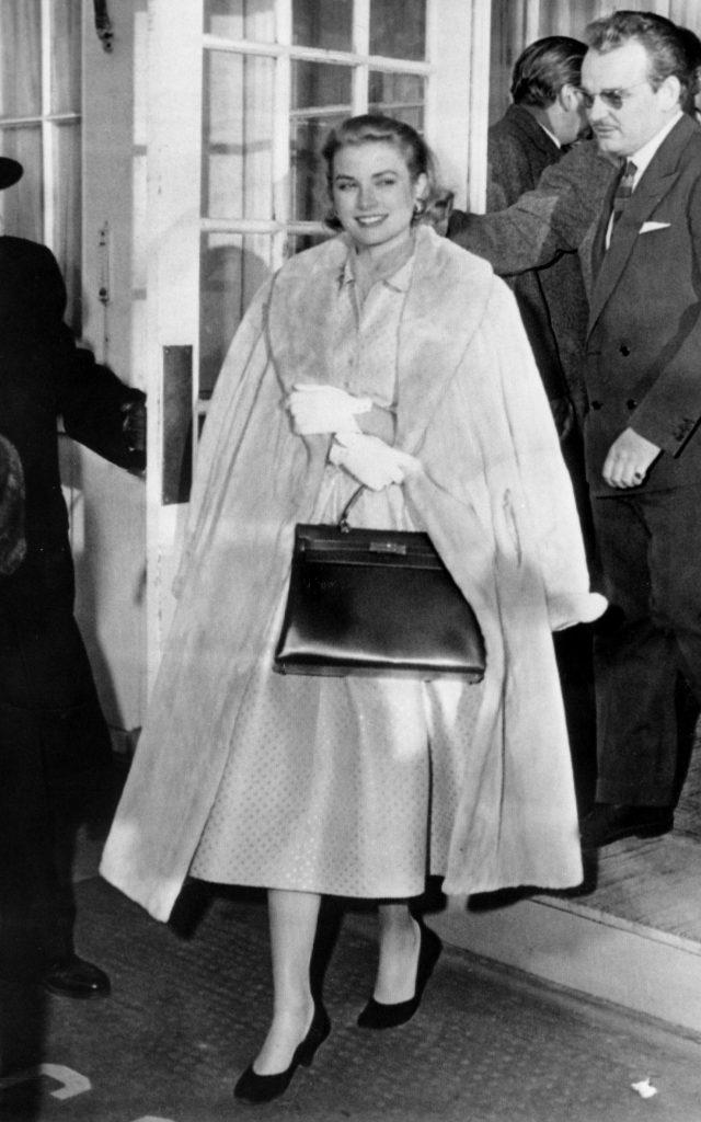 Grace Kelly and her Hermes Birkin