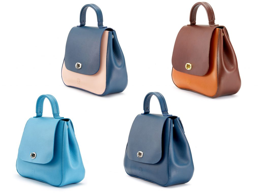 The Tusting Top-Handled Holly Leather Handbag