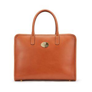 Tusting Catherine Handbag Large in Tan
