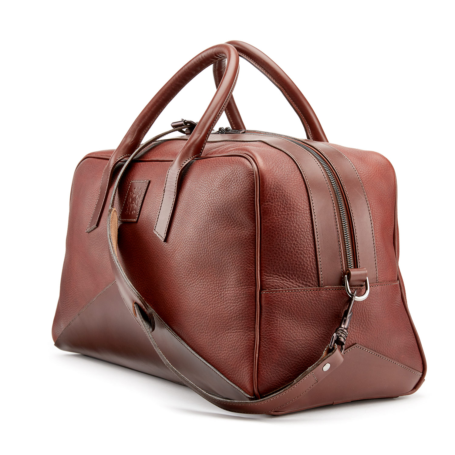 Tusting Hemington Leather Holdall