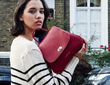 Tusting Holly Handbag in Scarlet