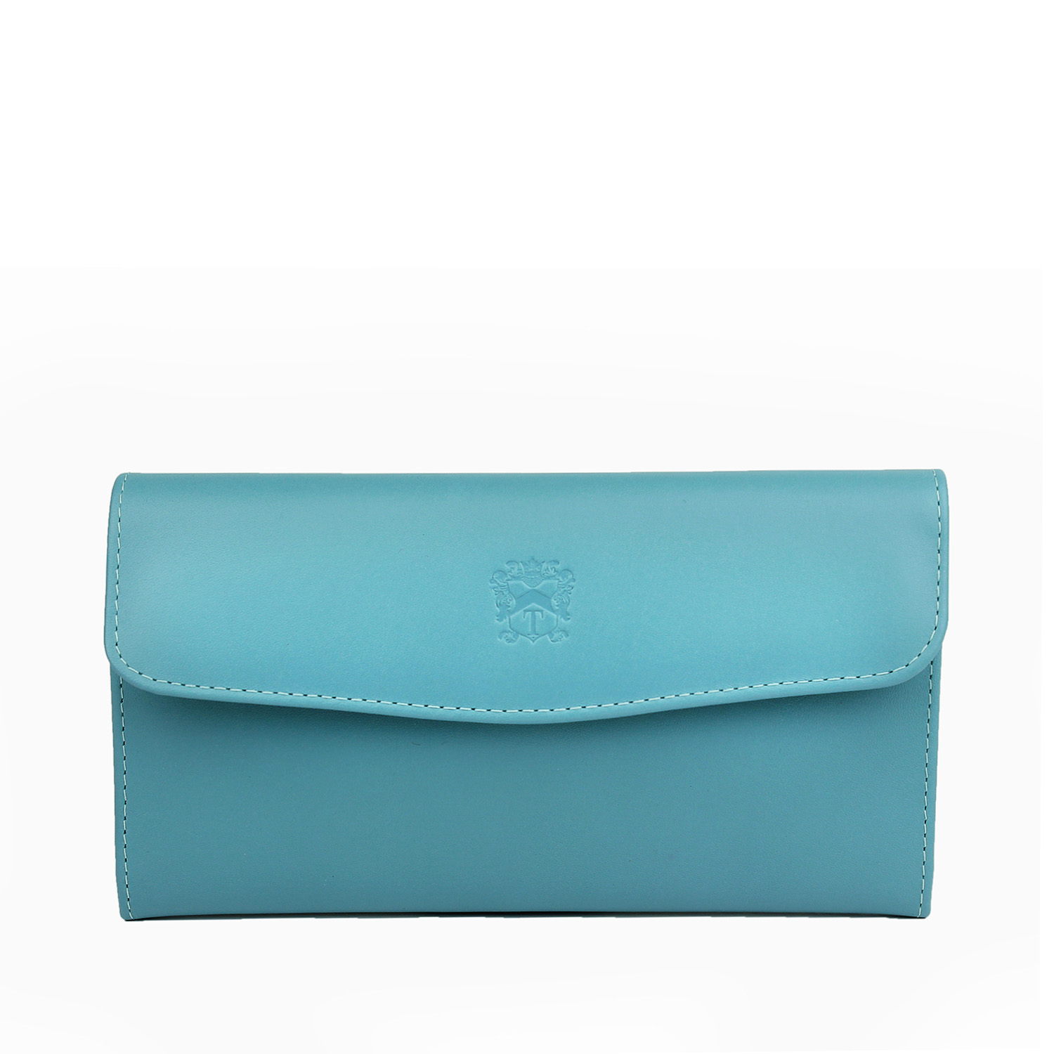 The Tusting Fold Purse in delicious pale Honeydon Blue