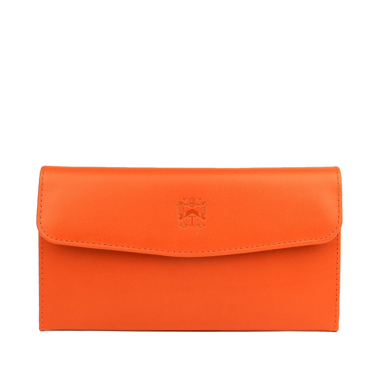 The Tusting Fold Purse in delicious Honeydon Orange