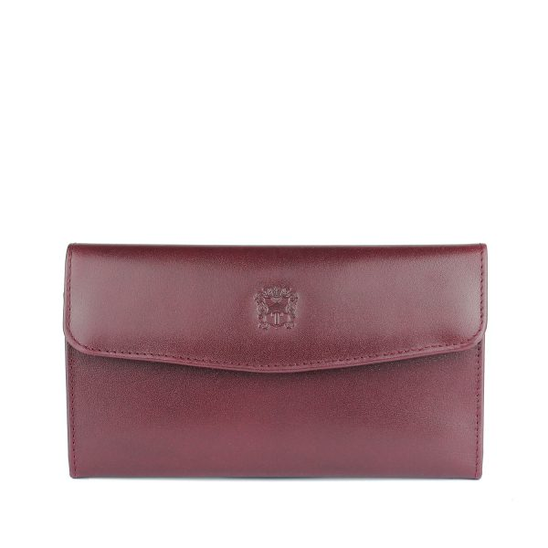 Tusting Purple Leather Purse