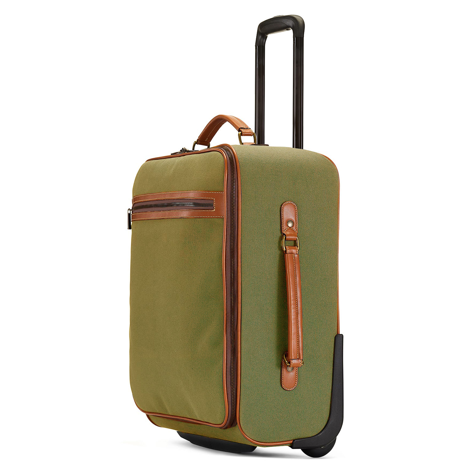 Tusting wheeled canvas cabin bag