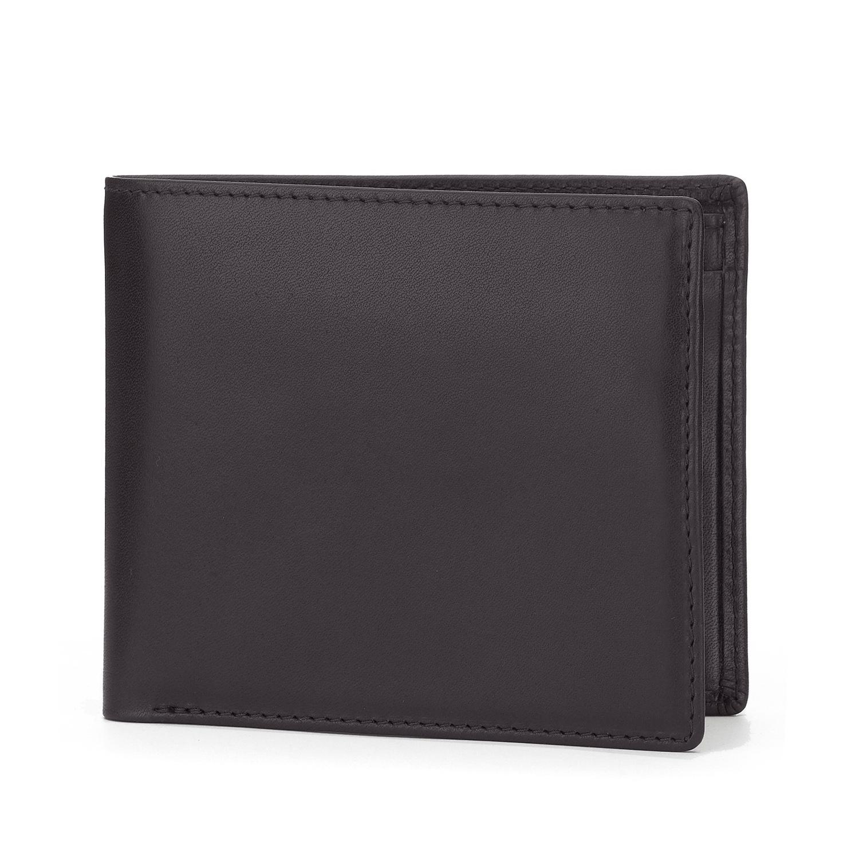 Tusting Black Leather Wallet