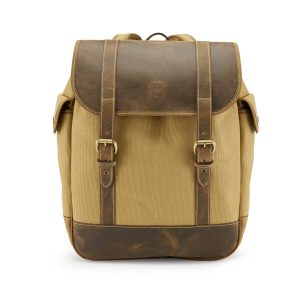 Tusting Safari Walton Canvas and Leather Backpack