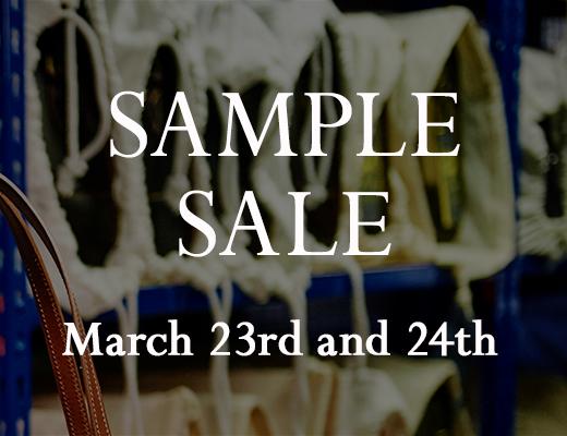 Workshop Sample Sale