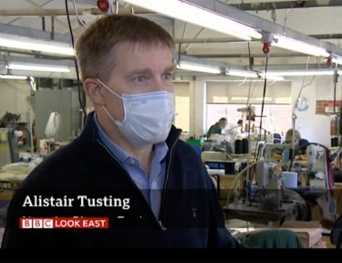 Tusting is Featured on the BBC News