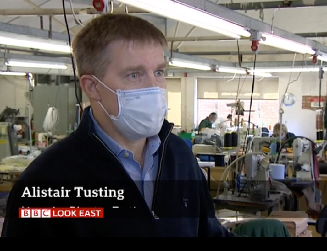Tusting Featured on BBC News