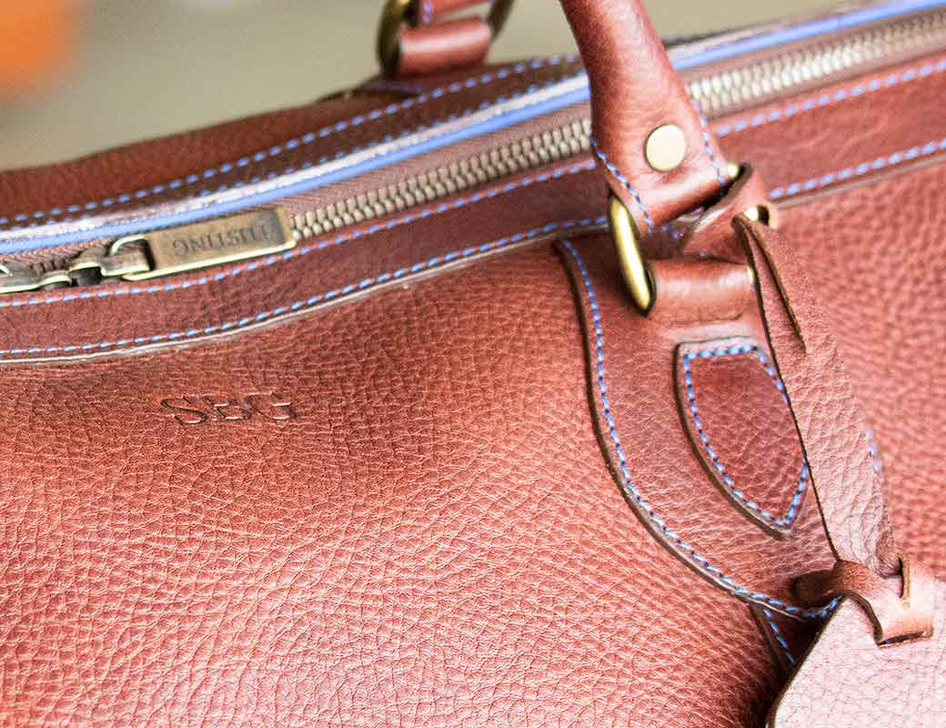 With Gentleman's Journal on Bespoke Luggage