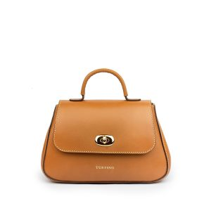The Tusting Mini Holly Leather Handbag in Tan