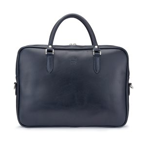 Tusting Piccadilly Leather Briefcase Front
